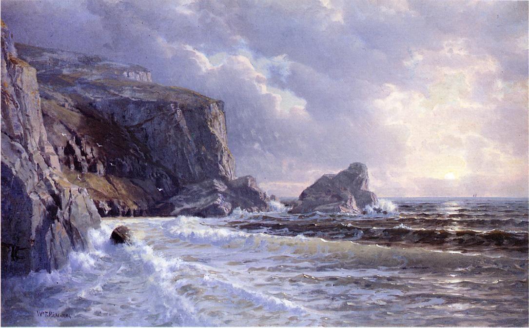 Картинки по запросу william trost richards painting