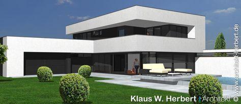 Bildergebnis für bauhaus villa Moderne huizen, Moderne