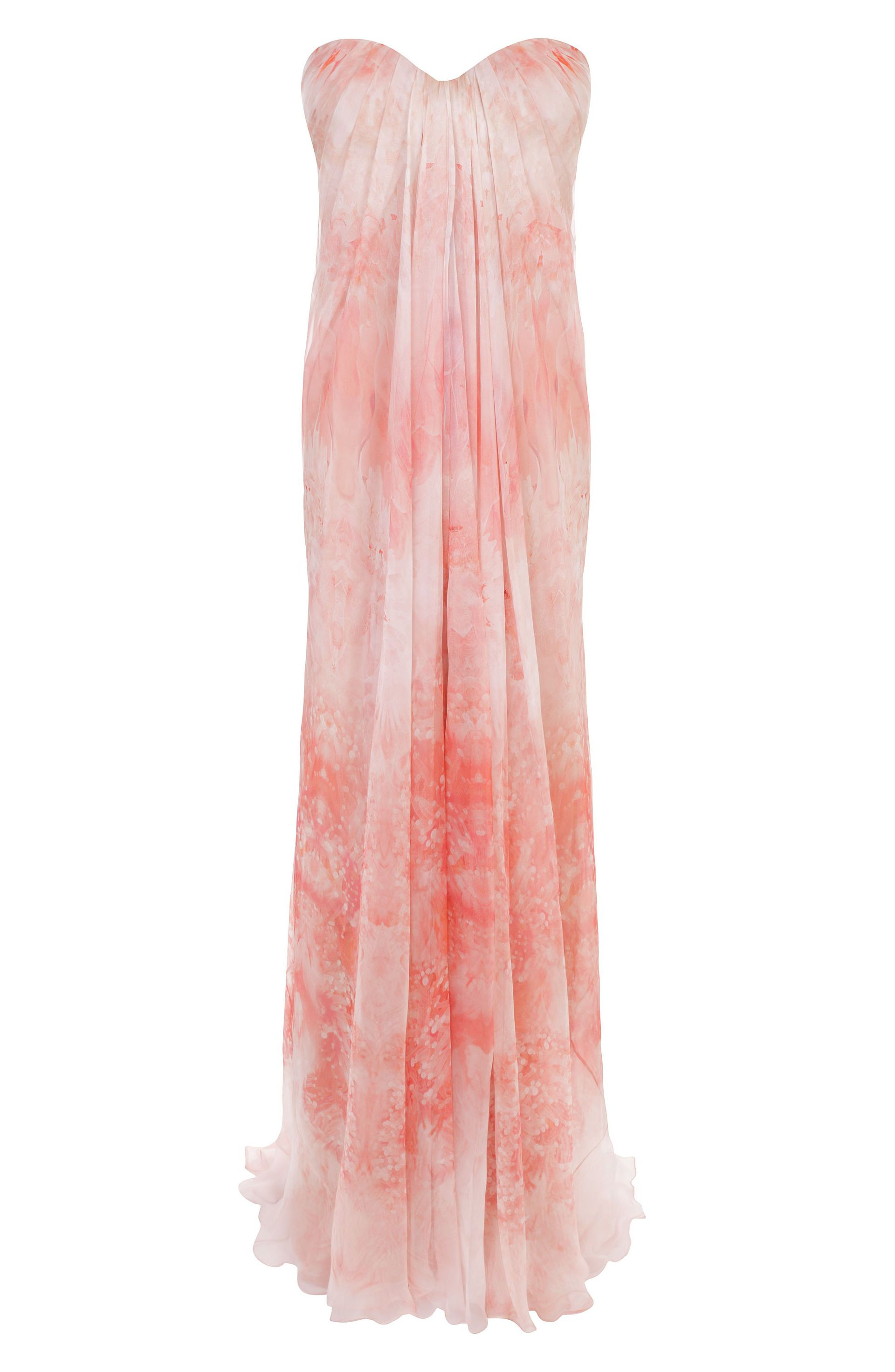 Anemone Silk Chiffon Bustier Dress <3 another one by Alexander ...