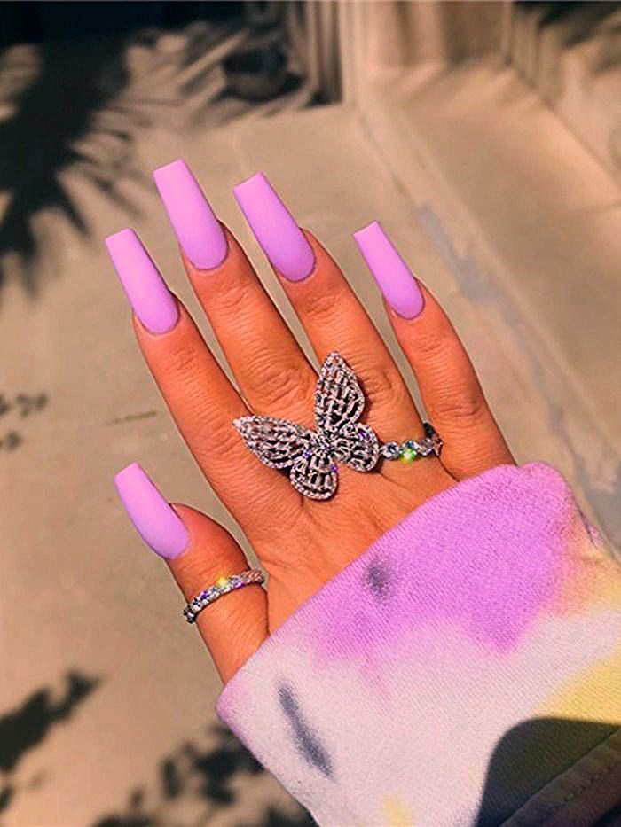 Photo of 36 Fabulous Long Coffin Nails Designs You Must Try In 2020