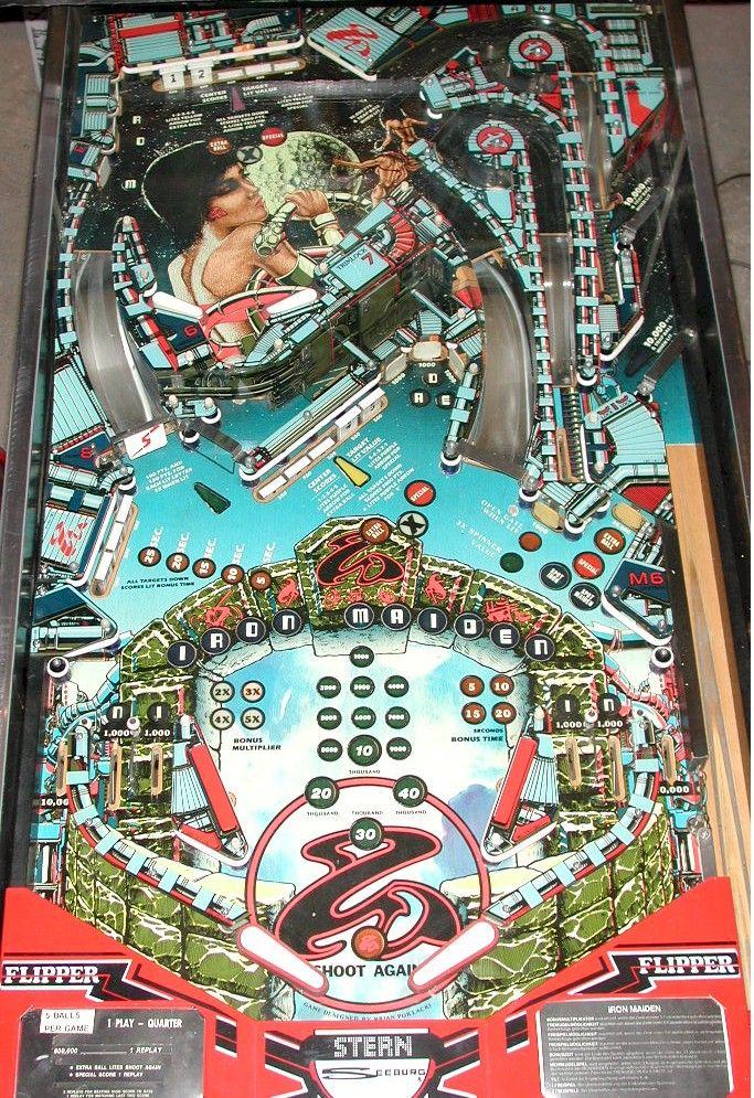 iron maiden pinball machine - Google Search | Pinball