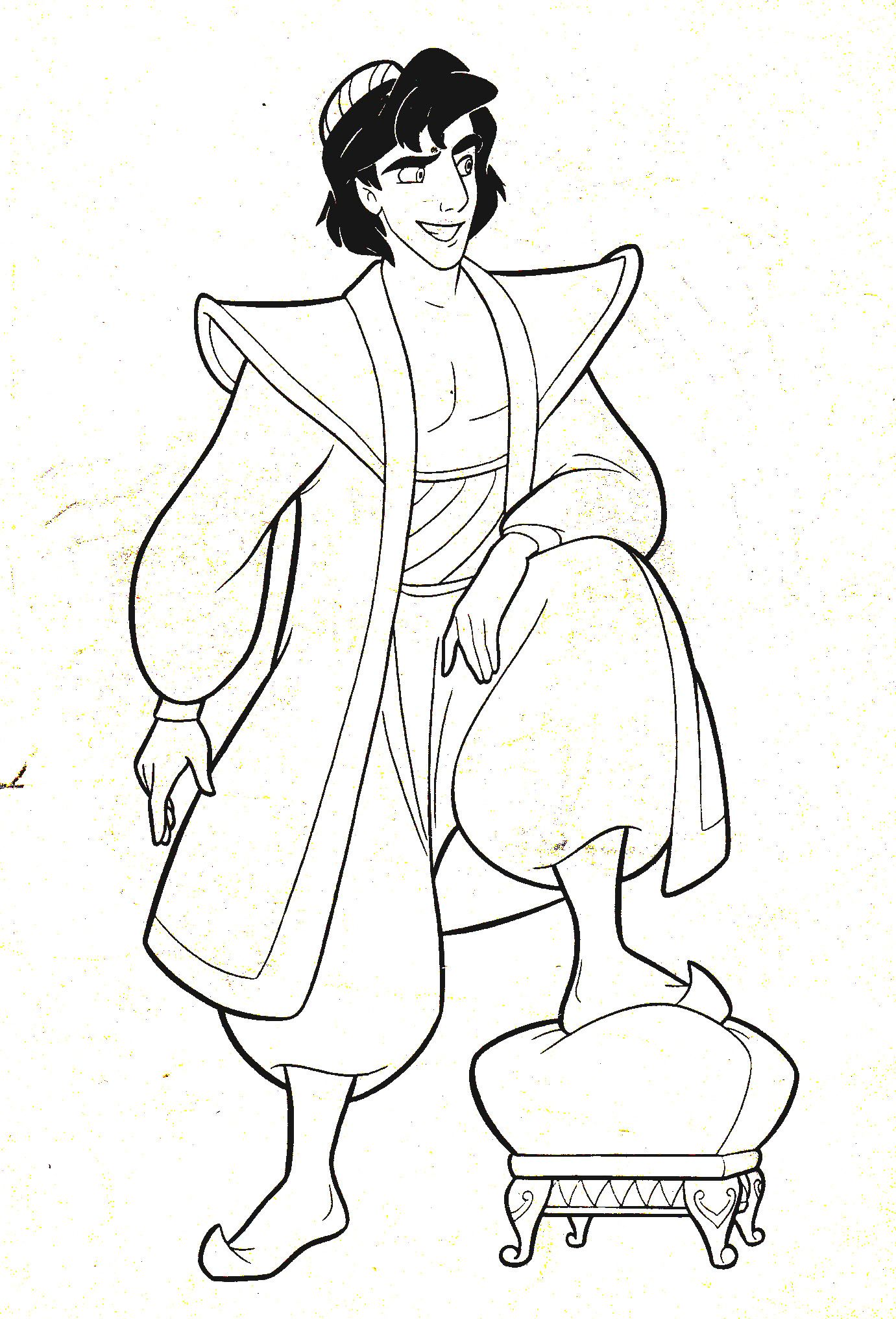 Of Walt Disney Characters Images Afbeeldingsresultaat Voor Aladdin Coloring Pages