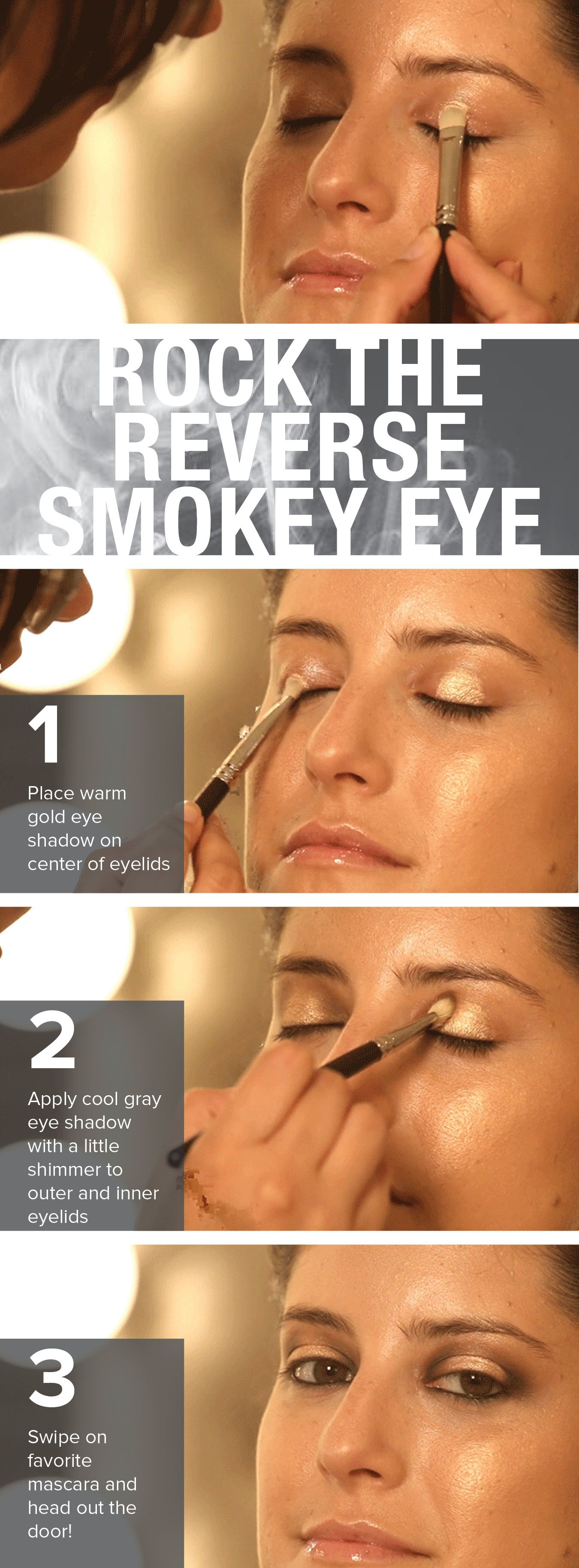 Sick of the smokey eye? This fierce look is bound to replace it