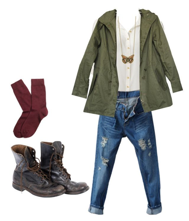 """""""Untitled #25"""" by arimom ❤ liked on Polyvore featuring Forever New, Miso and Brooks Brothers"""