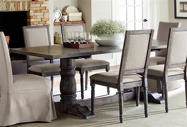 Muses Transitional Dove Grey Rubberwood Rectangle Dining  : 34d3029a8888d096327bb1c268bf9547 from www.pinterest.com size 600 x 406 jpeg 46kB