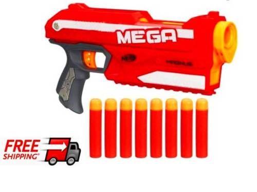 216529ed00c Nerf-N-Strike-Elite-Mega-Magnus -Blaster-Dart-action-Gun-Kids-Toy-with-Bonus-Pack