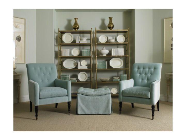Sherrill Furniture Upholstered Chairs, Mrs Howard Furniture