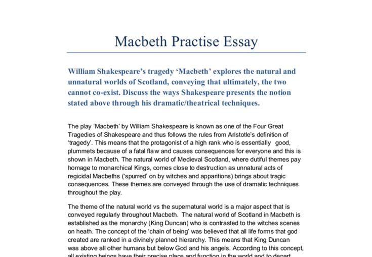 Macbeth essay essay2 pinterest macbeth essay sample resume