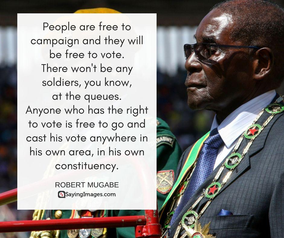 40 Robert Mugabe Quotes Sayingimages Com Mugabe Quotes Quotes Image Quotes