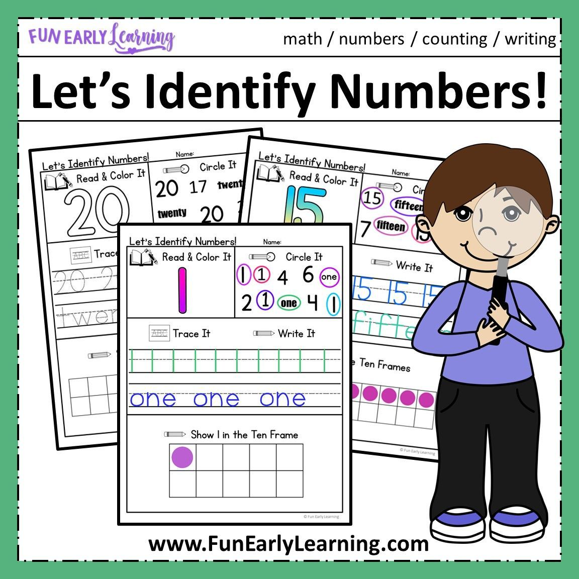 Let S Identify It Number Recognition