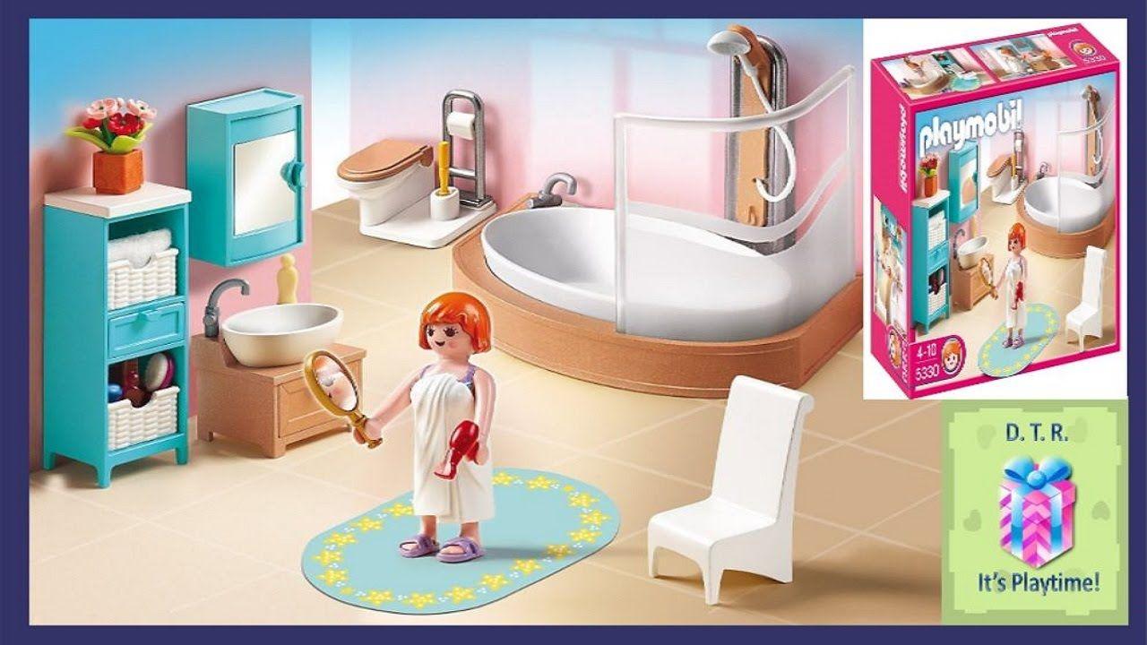 PLAYMOBIL 5330 Grand Bathroom ♡ DISNEY TOY REVIEWS DTR ...