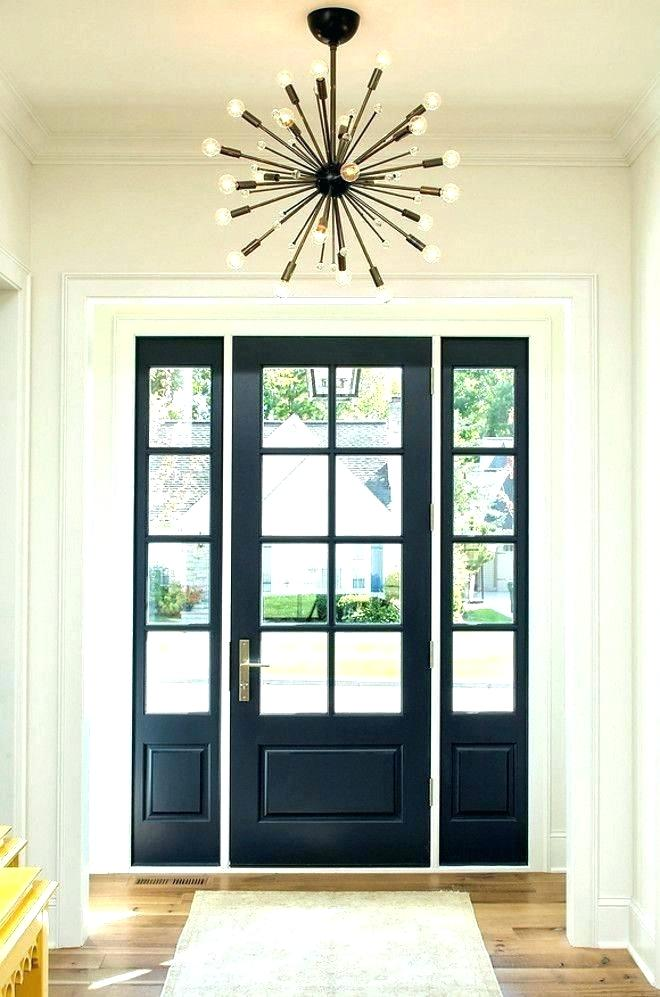 Entry Door With Sidelights And Transom Steel Front Doors With