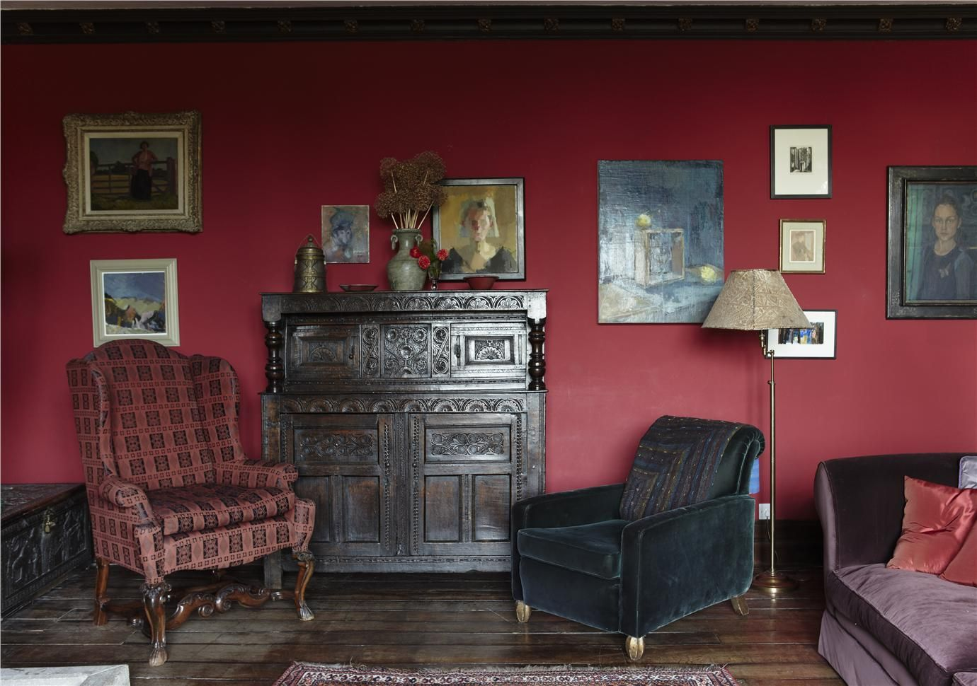 Rectory red by Farrow & Ball | Color | Pinterest | Farrow ball ...