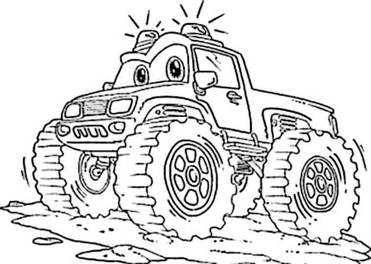 malvorlagen monster trucks ausmalbilder kostenlos monster