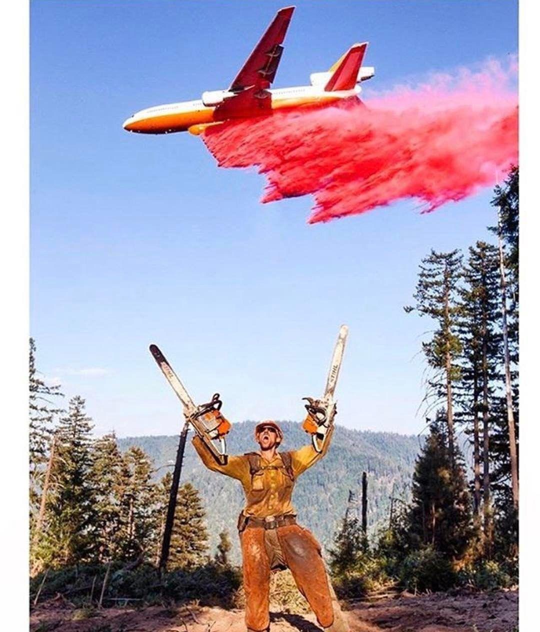 Forest Firefighter & Fire Retardent Bomber