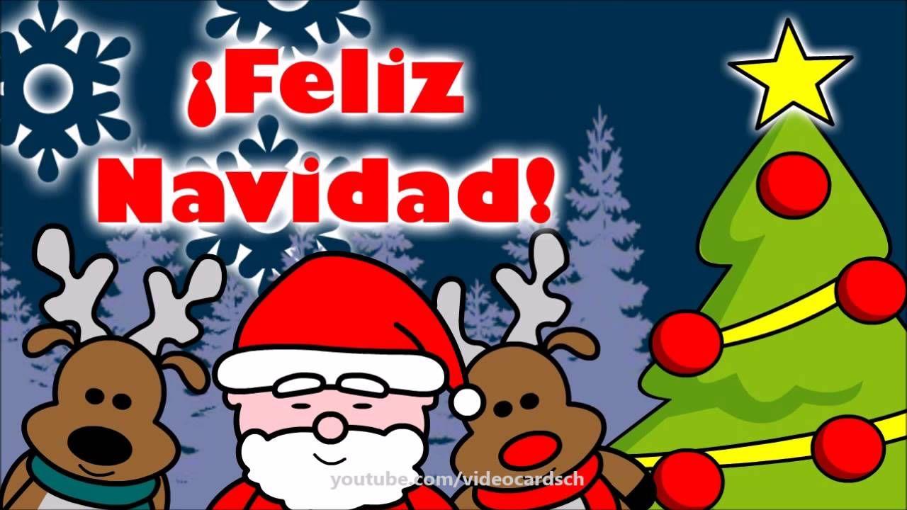 Felicitaciones navide as animadas tarjetas animadas santa - Dibujos tarjetas navidenas ...