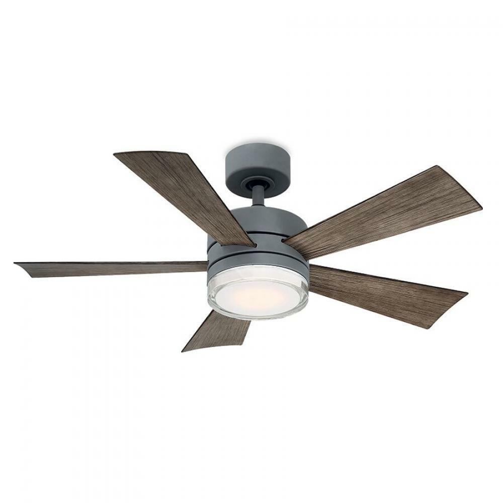 Wynd Downrod Ceiling Fans 7200 Fr W1801 42l Gh Wg In 2021 Led Ceiling Fan Ceiling Fan With Remote Ceiling Fan