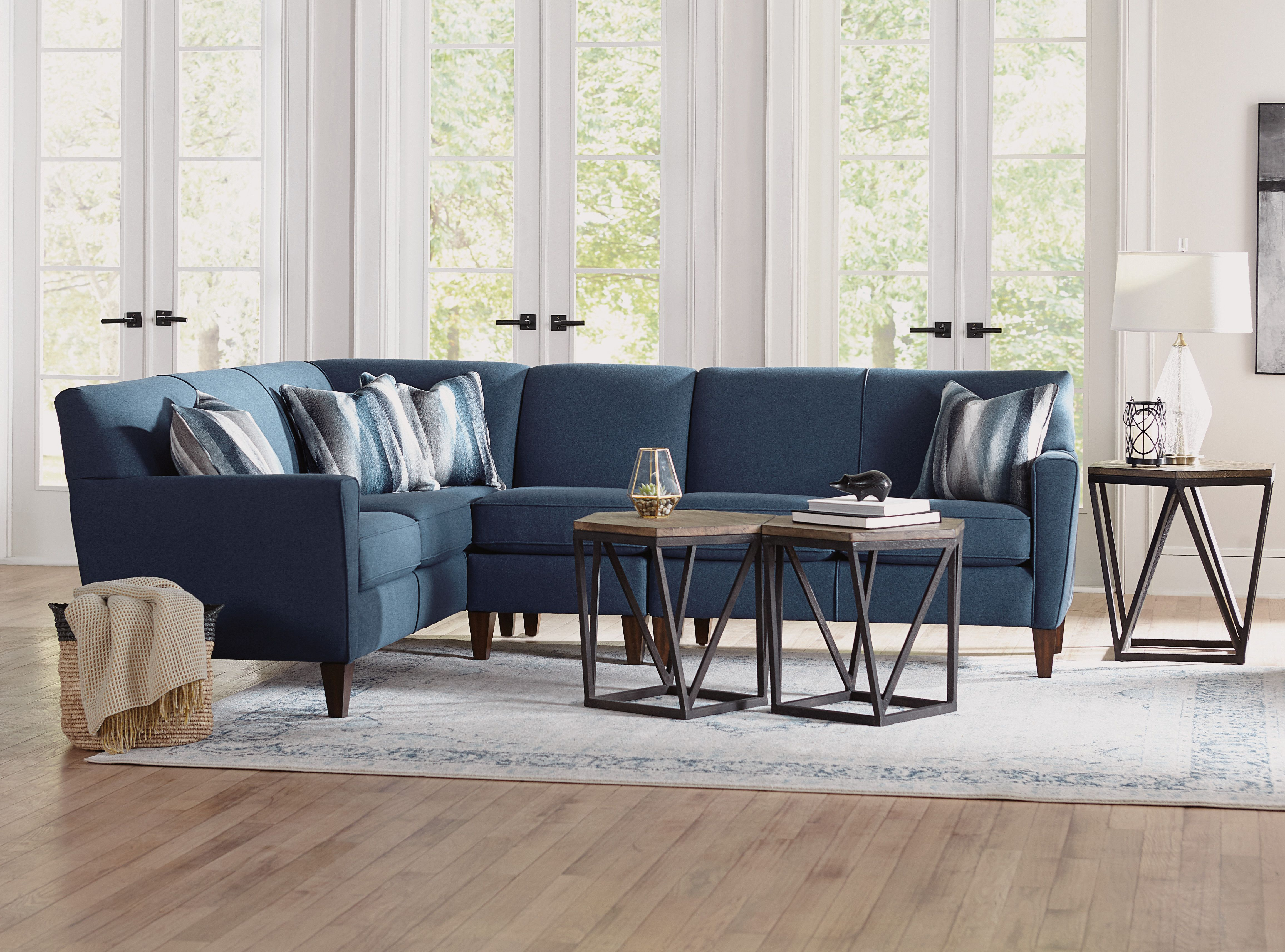 The Digby Sectional By Flexsteel Flexsteel Furniture Is Available
