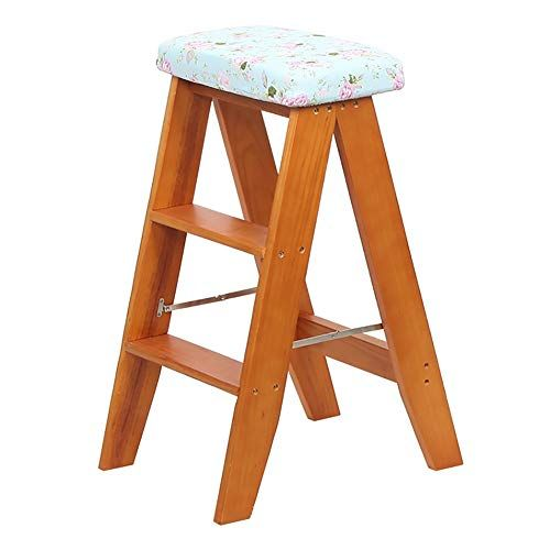 Enjoyable Lxf Step Stool Step Stool Solid Wood Folding Portable Pabps2019 Chair Design Images Pabps2019Com