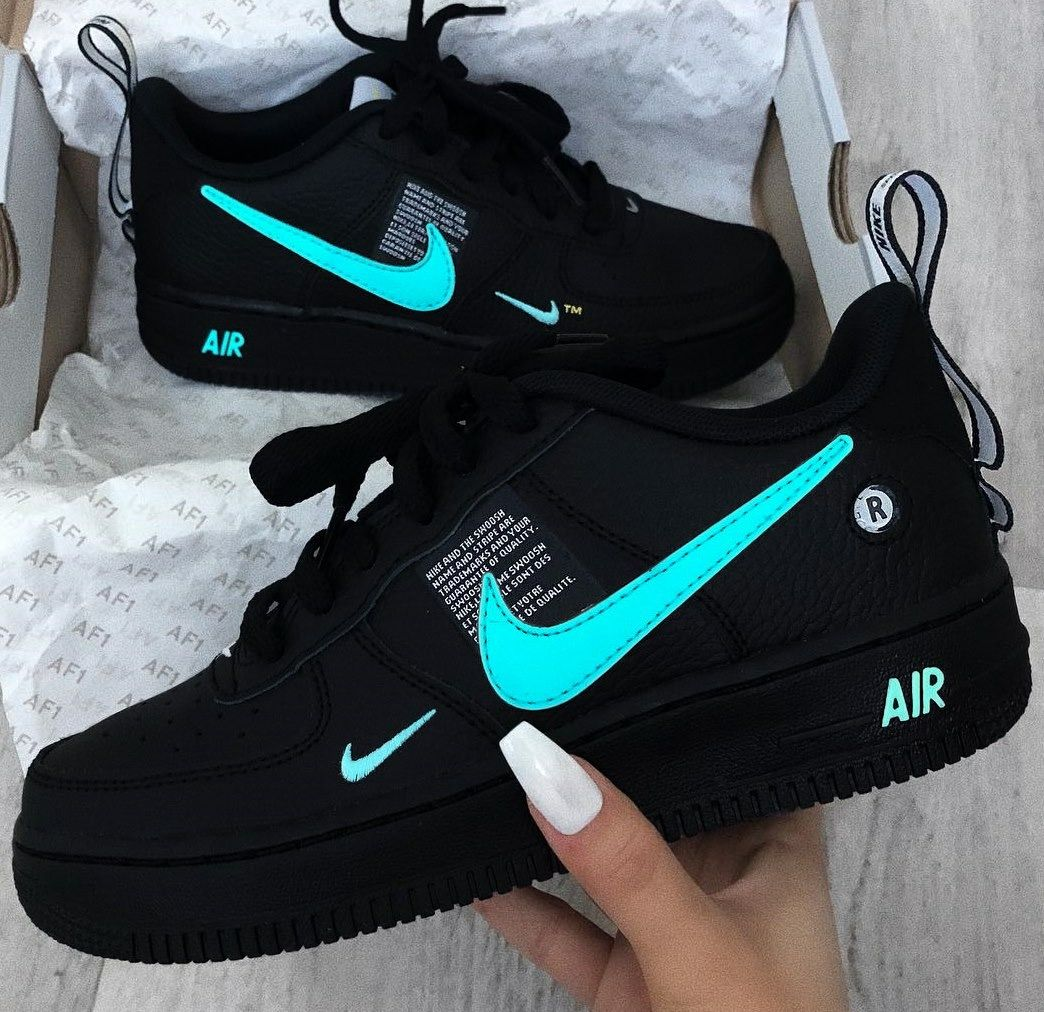 nike air force 1 nere belle