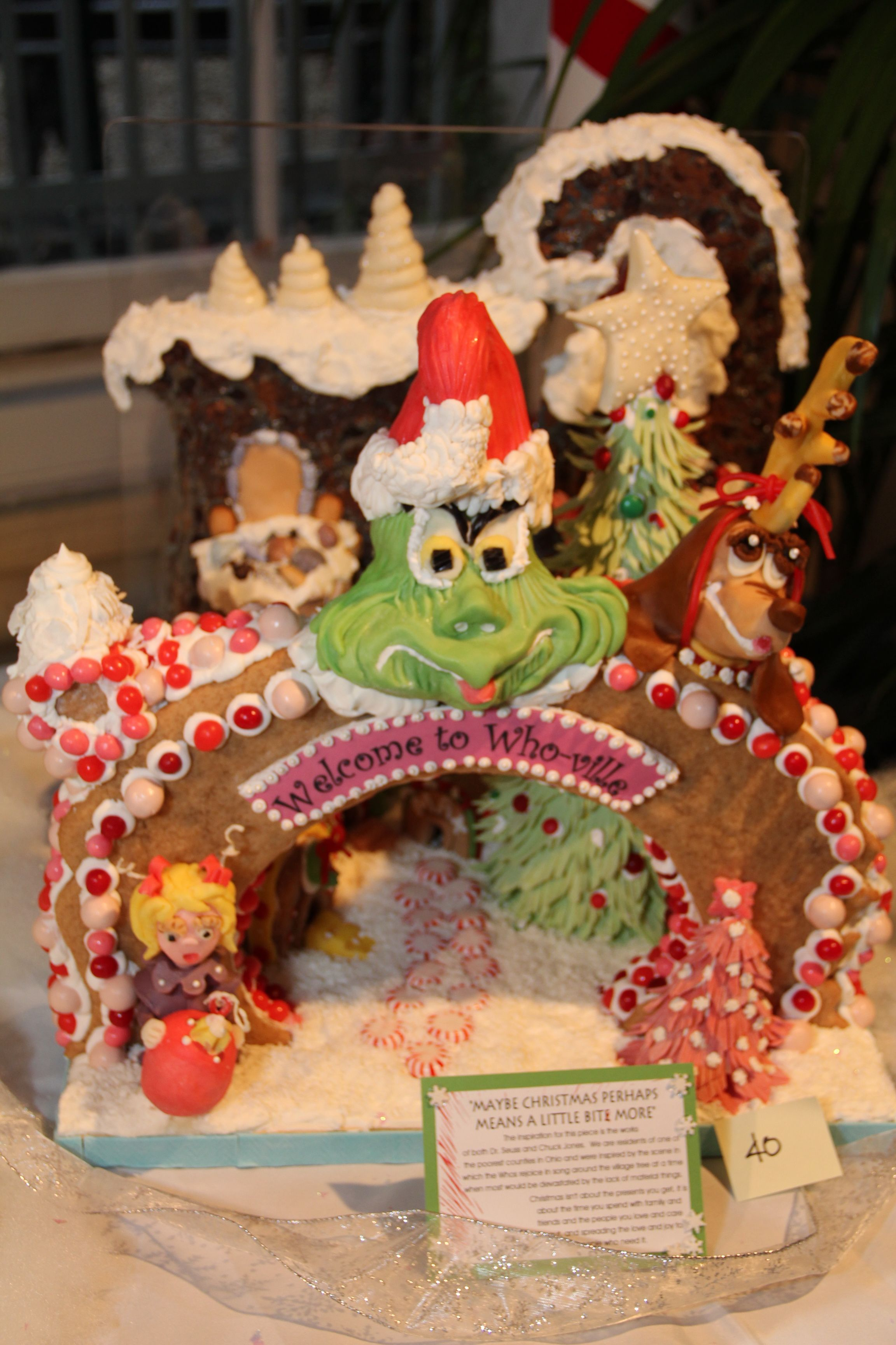 Another Great Grinch Gingerbread House 2011