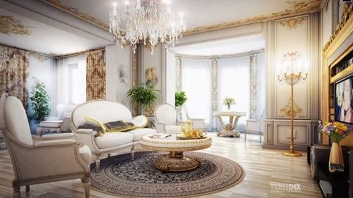 Victorian Living Room Curtain Ideas  Victorian Style  Spaces Awesome Victorian Living Room Decorating Ideas Design Ideas