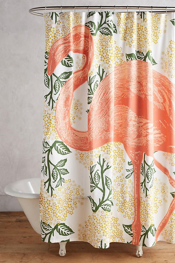 Bring Bohemian To The Bathroom With A Tasseled Shower Curtain