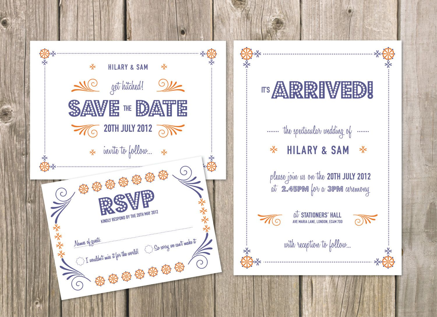 Retro Vintage 50s Digital Printable DIY Wedding Invitation Suite ...