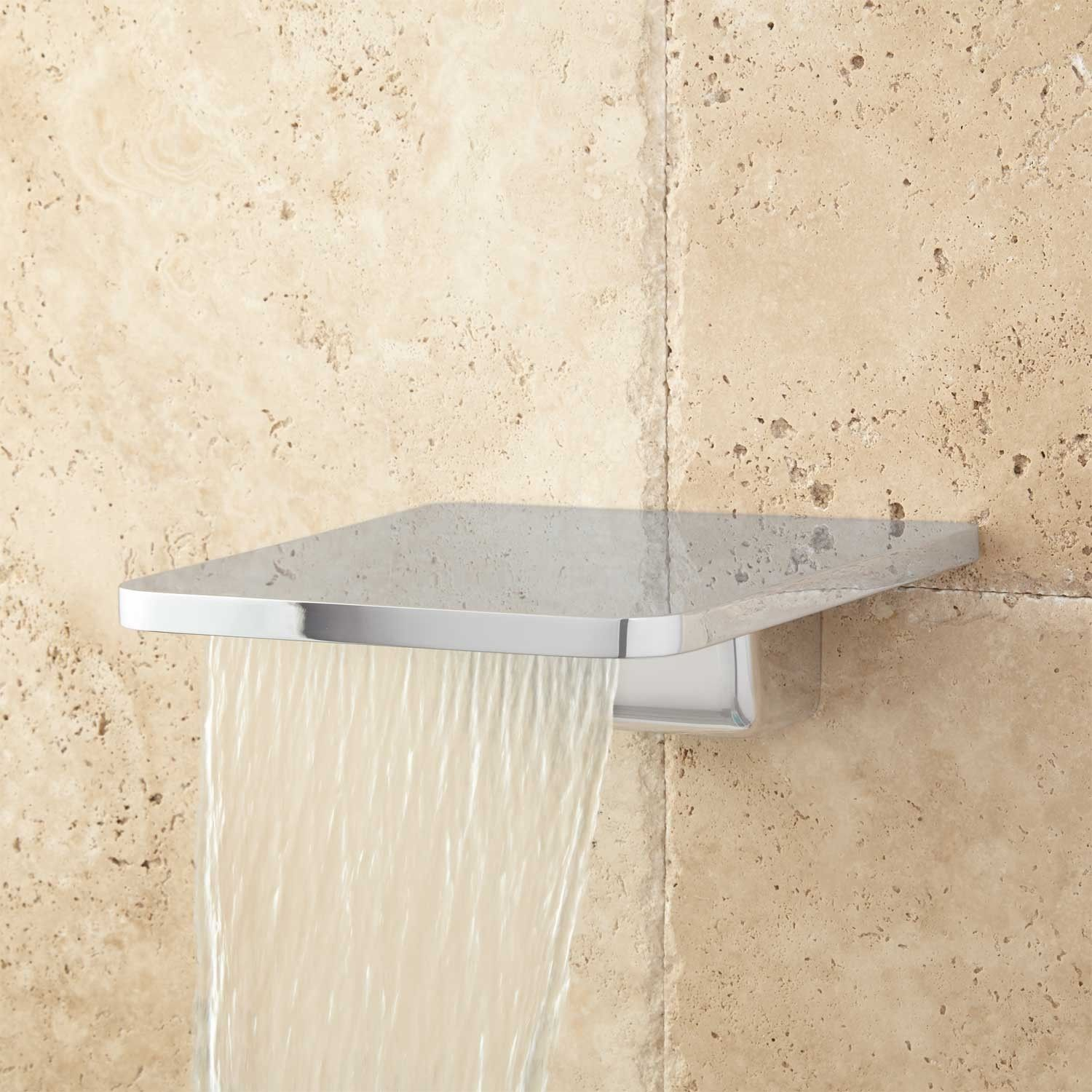 Wall Mount Waterfall Tub Spout With Diverter | http://bottomunion ...
