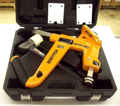 Stanley Bostitch Factory Reconditioned Bostitch U/MFN 201 Manual Flooring  Cleat Nailer Kit (MFN201R)