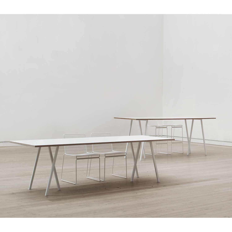 Loop Stand Bord 200 cm, Vit | Möbler, Möbeldesign, Möbelidéer