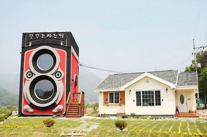 Кафе-фотокамера в Южной Корее