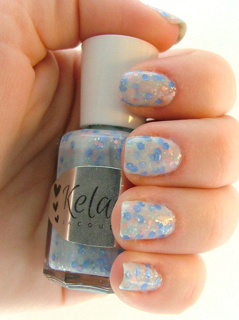 Daydream Nail Polish White Milky Base by KelaraLacquers | Nails ...