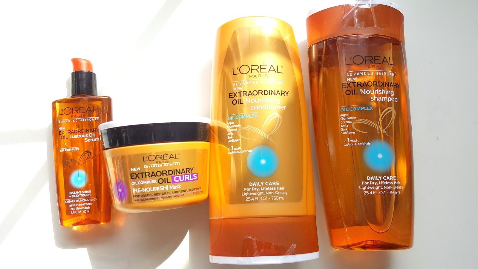 L'OREAL PARIS ADVANCED HAIRCARE EXTRAORDINARY OIL REVIEW