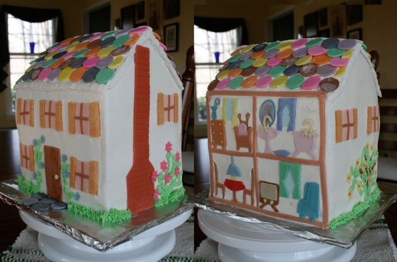 Doll House Cake By Dstippy 13 Birthday Gurl In 2019 Pinterest