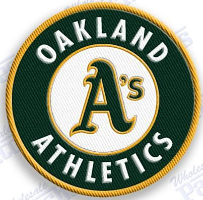 Oakland A S Athletics Iron On 100 Embroidered Embroidery Patches Patch 2 0 X 2 0 Inches Mlb Baseball Baseball Teams Logo Emblem Logo Patch Logo