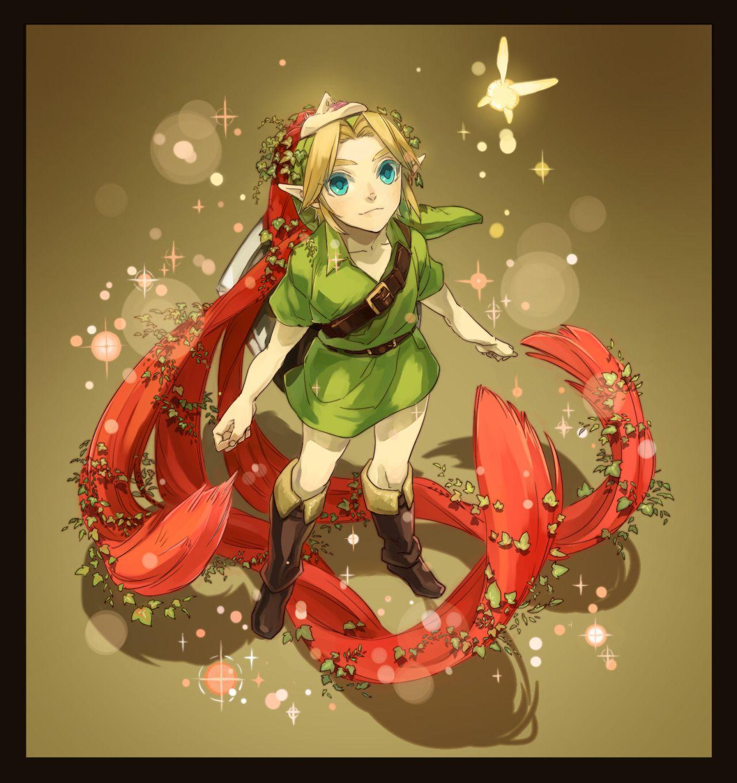 Young Link - Legend of Zelda Majora's Mask via pixiv | Legend of ...
