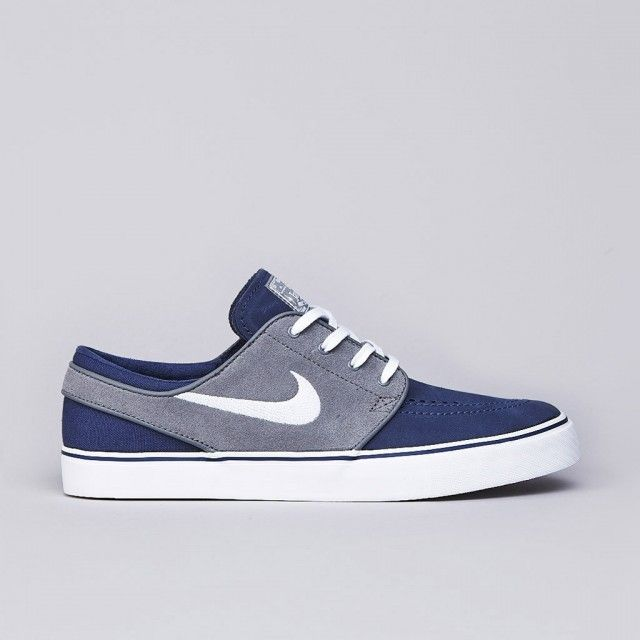nike sb stefan janoski midnight navy white cool grey