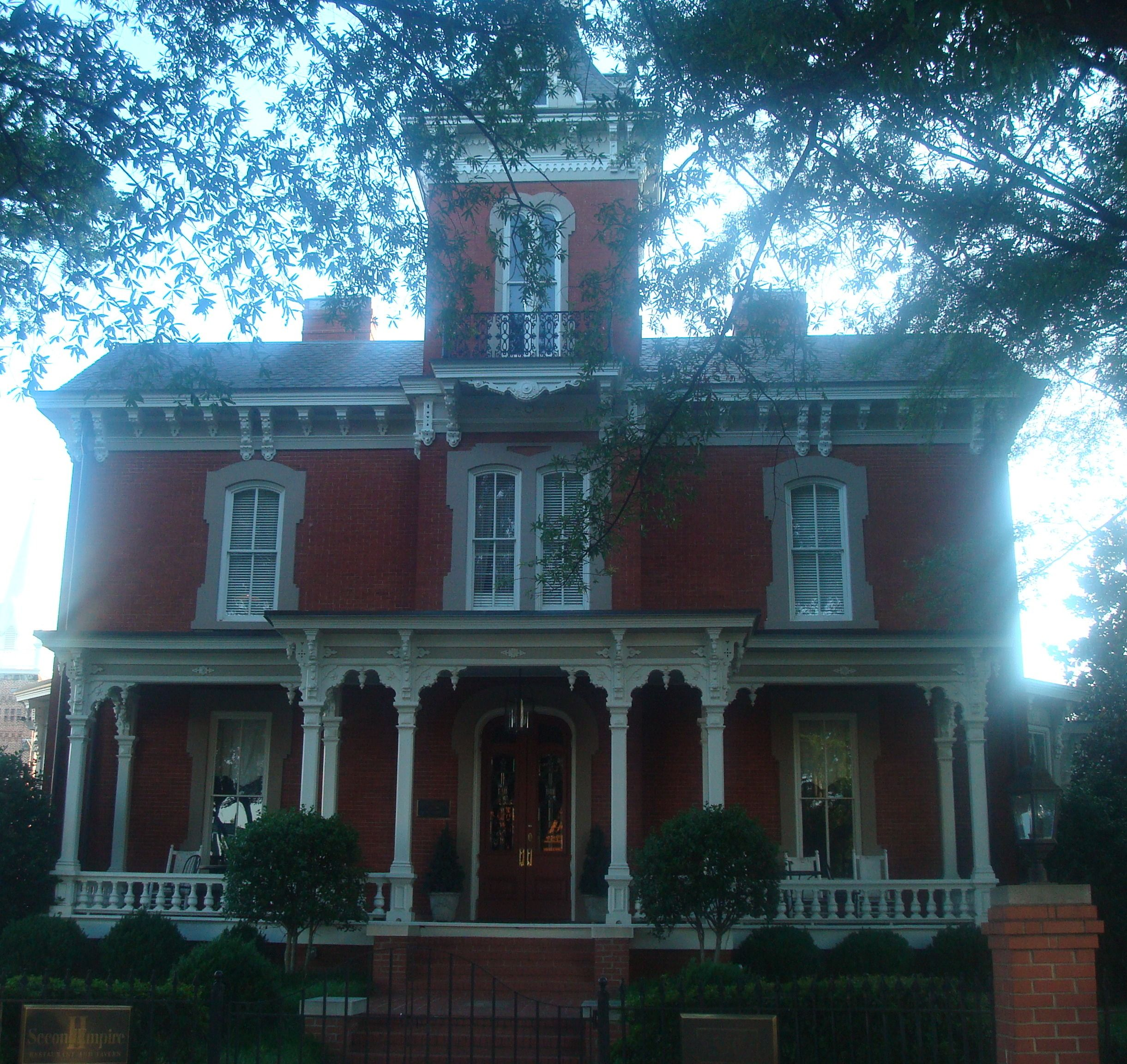 The Dodd-Hinsdale House in Downtown Raleigh, N.C.
