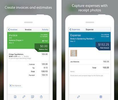 QuickBooks Screenshot Best mobile apps, Best apps