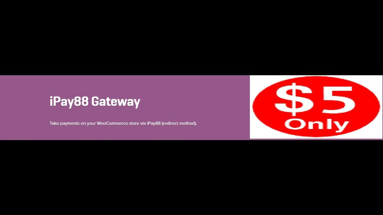 WooCommerce iPay88 Gateway 1.2.11 Extension Download - YouTube ...