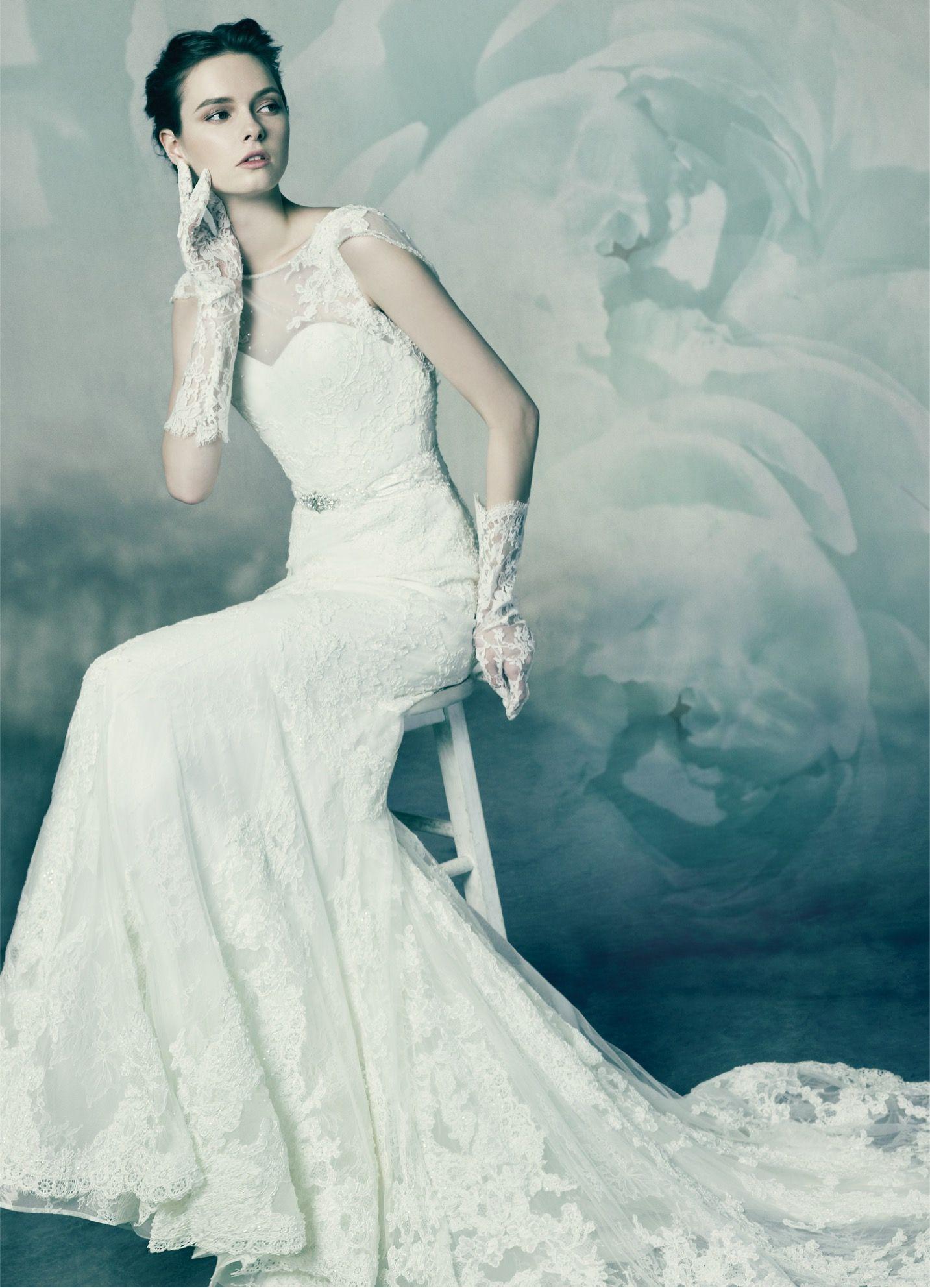 MOONSTONE, wedding dress from Annasul Y. 2016 Bridal Collection. www ...