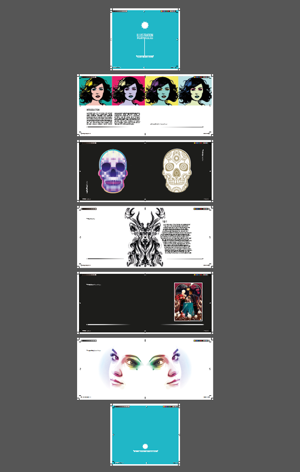 create a stand out portfolio book in indesign part two the inside