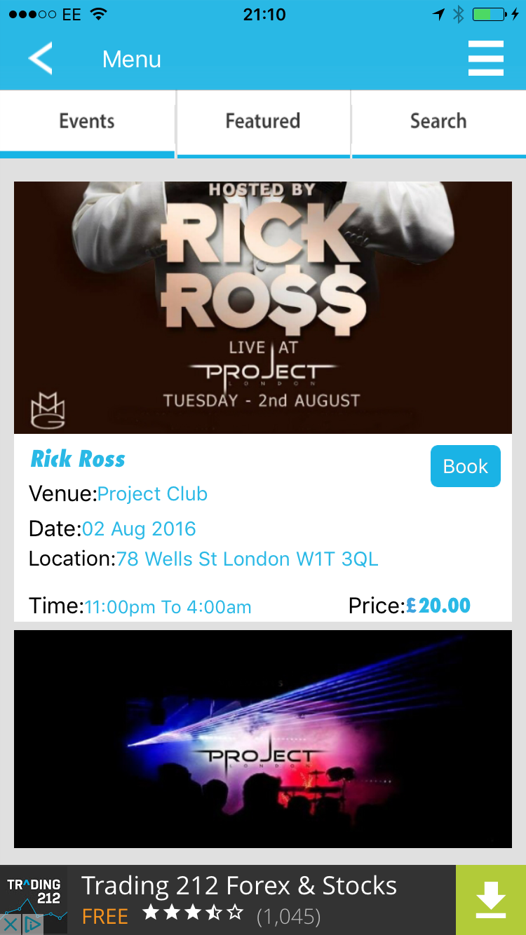 guestlist available via london club nights app download the app for