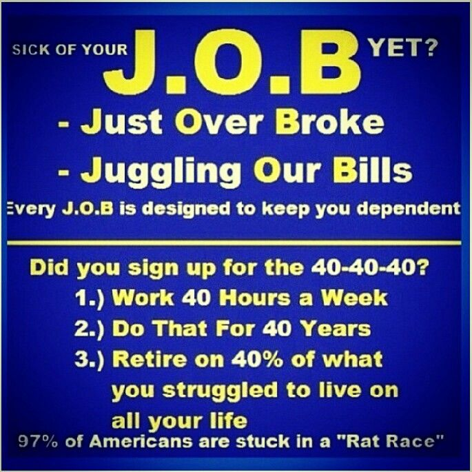 Are you a Canadian in Ontario who is tired of your JOB? Write me at ronsedlak@yahoo.com and we'll talk ...
