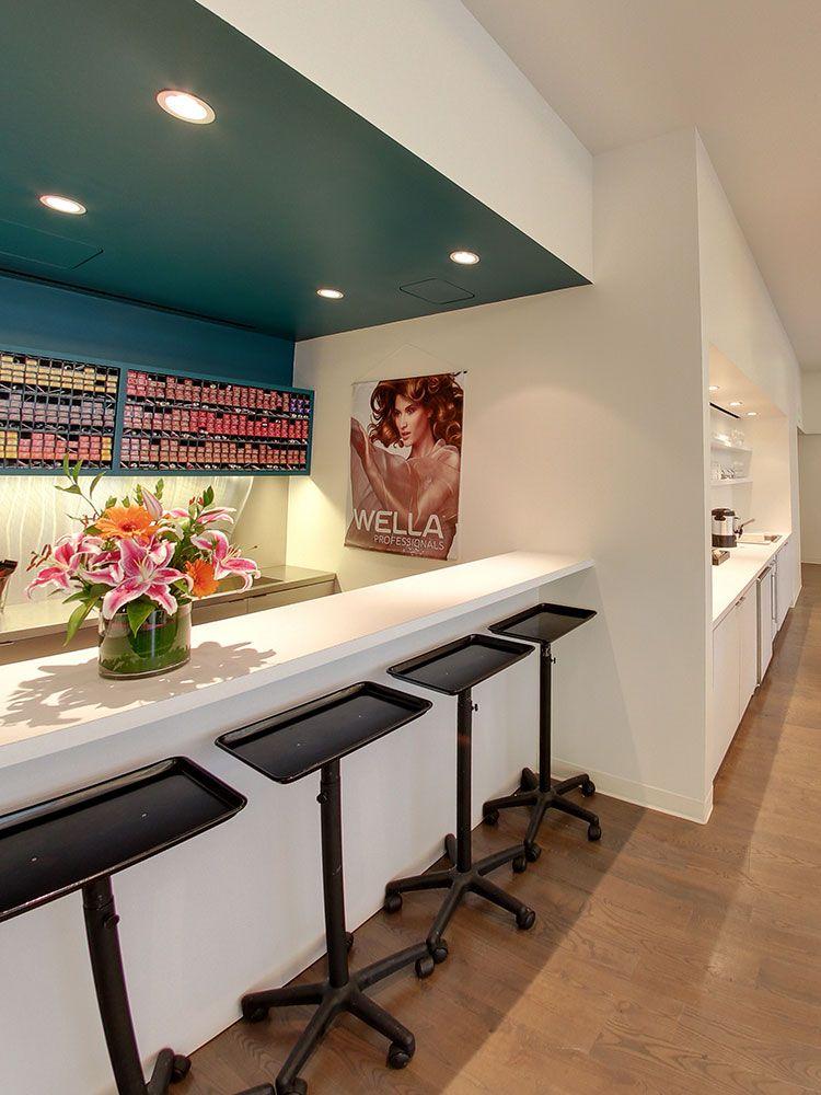 Soty 2014 j roland salon salon interiors in 2019 hair salon interior aveda salon beauty - Bar salon design ...