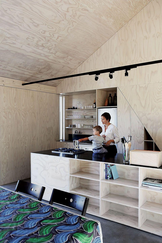 Villa de rêve pour petit budget | Blumenampel, Küche und Hochbetten