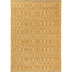 Photo of benuta Naturals flat woven carpet Sloan yellow 120×170 cm – modern carpet for living room benuta.de