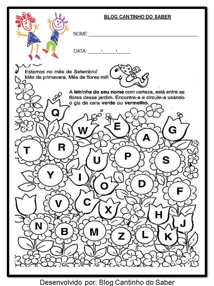 Populares Resultado de imagem para atividades sobre a primavera para  GY99