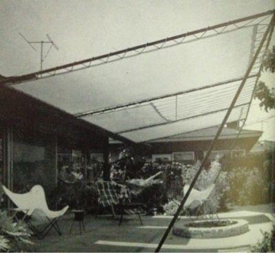 Mid Century patio